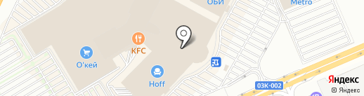 Атриум на карте Краснодара