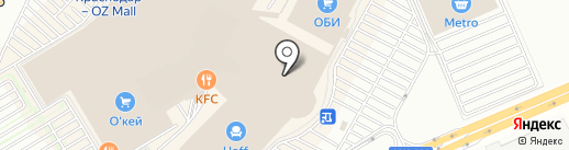 Samsung на карте Краснодара