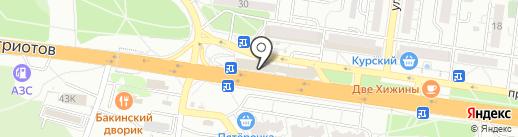 Алкобренд на карте Воронежа