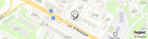 Comepay на карте Воронежа