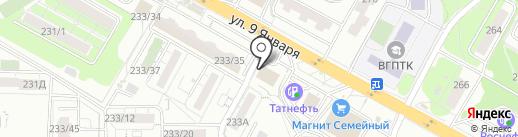 СтройХит на карте Воронежа