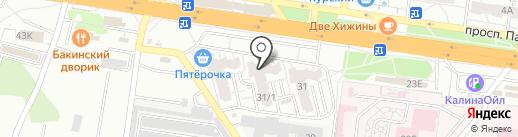Maga на карте Воронежа