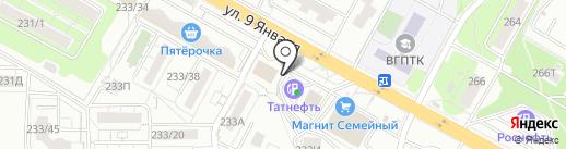 5 колесо на карте Воронежа