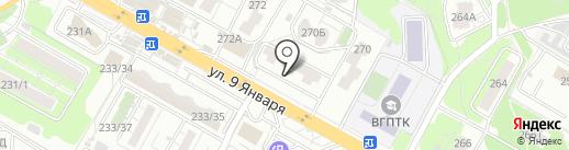 Ломбард №1 на карте Воронежа