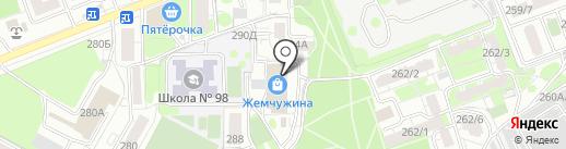 Новое время на карте Воронежа