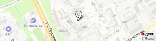 Автостиль на карте Воронежа