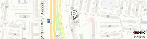 Фотокопицентр на карте Воронежа