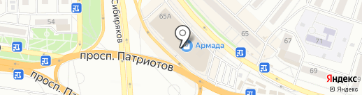 Мультипроцессинг КИТ на карте Воронежа