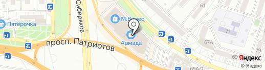 Barti на карте Воронежа