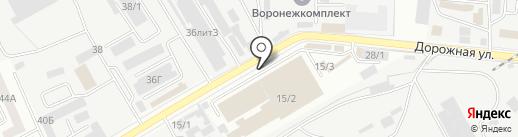 Магазин автозапчастей для сельхозтехники на карте Воронежа