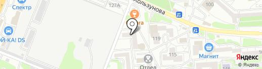 Kingsman на карте Воронежа