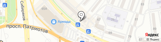 Flowers №1 на карте Воронежа