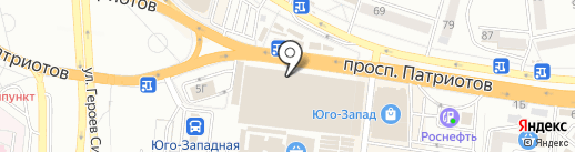 City на карте Воронежа
