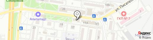 Ника на карте Воронежа