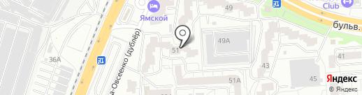 Куафёр на карте Воронежа