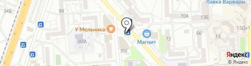 Грядка на карте Воронежа