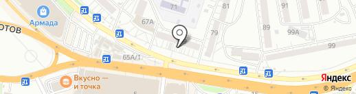 Славянская оптика на карте Воронежа