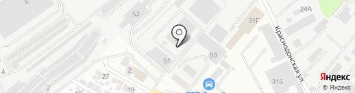 Металлопрокат на карте Воронежа