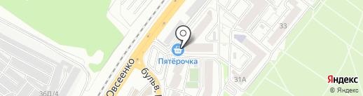 Автоштаб на карте Воронежа