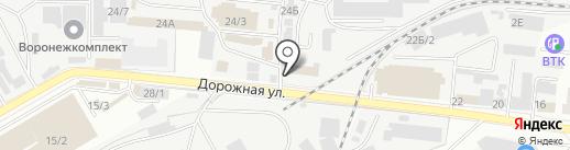Альтернатива на карте Воронежа