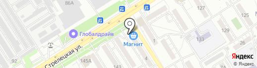 Ателье на карте Воронежа