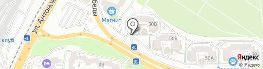 Форсаж на карте Воронежа