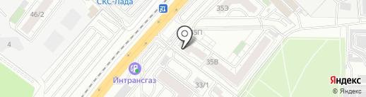 ПИВ.КО на карте Воронежа