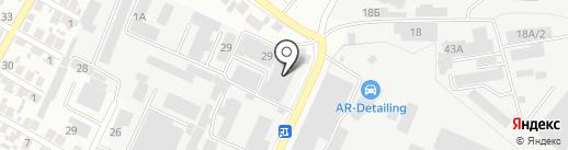 Фильтр Лайн на карте Воронежа