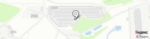 MotorBox на карте Воронежа