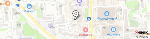 СЁМА на карте Воронежа