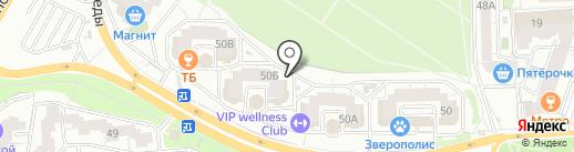 СДЮСШОР №33 на карте Воронежа