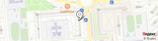 Экспресс-Сервис Воронеж на карте Воронежа