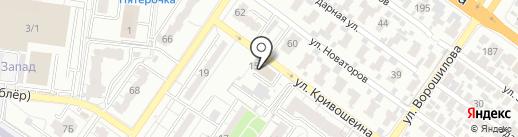Стройинжиниринг на карте Воронежа