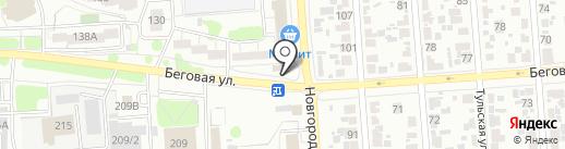 ЦентрЧерноземТорг на карте Воронежа