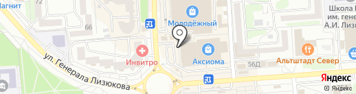 Мастерская по ремонту обуви на карте Воронежа