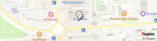 Mobile 36 на карте Воронежа