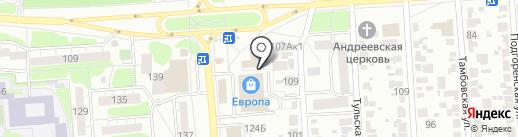 ЭнергоСтрой на карте Воронежа