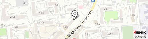 Мастер и Маргарита на карте Воронежа