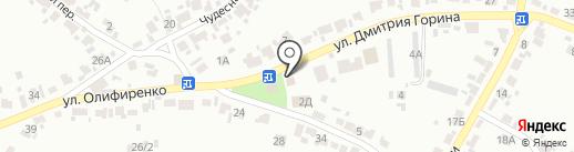 Аптека на карте Воронежа