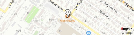 Русский свет на карте Воронежа