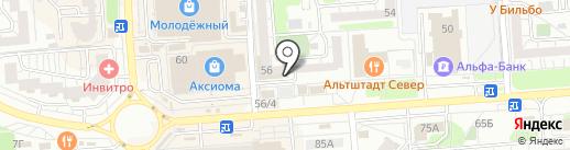 Фотоцентр на карте Воронежа