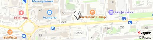Craft pizza на карте Воронежа