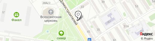 Фаворит на карте Воронежа