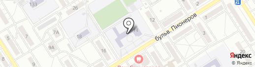 ДЮСШ №26 на карте Воронежа