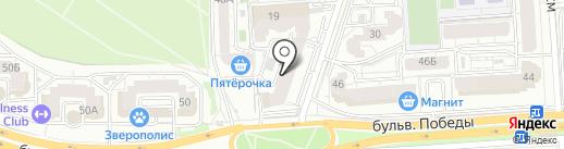 Shabell на карте Воронежа