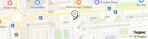 Cherry на карте Воронежа