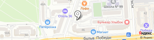 Безумный космос на карте Воронежа