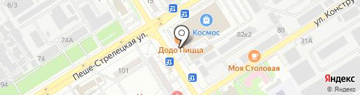 Черноземмяспродукт на карте Воронежа