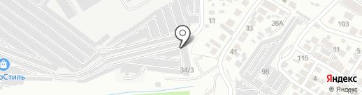 Совет на карте Воронежа