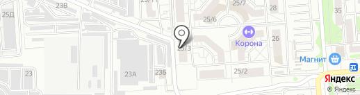 Центр инновационной косметологии на карте Воронежа